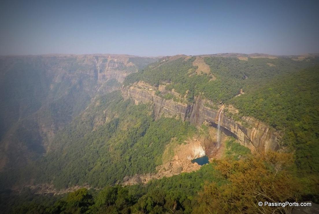 Most famous falls in Sohra