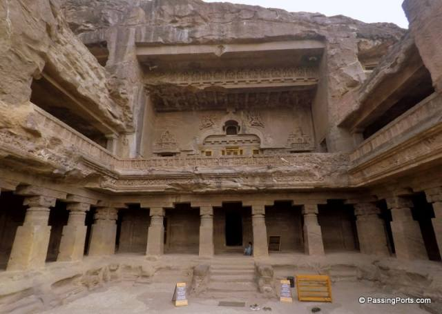 Jain caves in Ellora