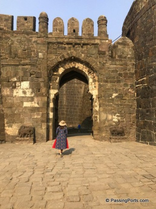 Entry to Daulatabad Fort