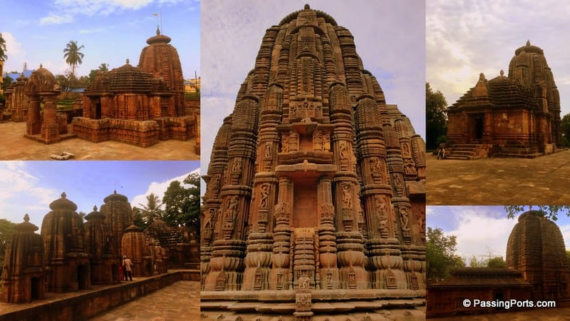 Some of the oldest temples in Bhubaneshwar