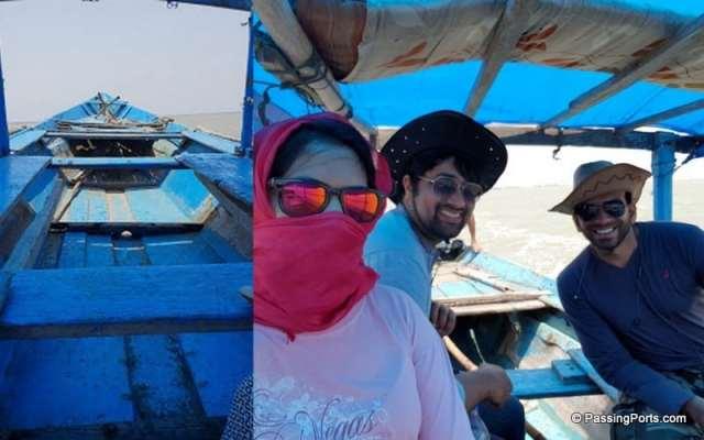 Boating in Satapada