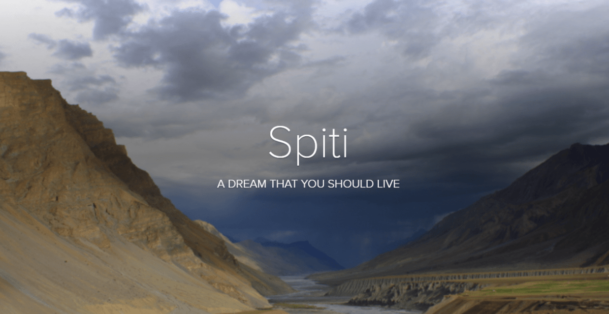 Spiti - A Dream Trip With Transforming Travels