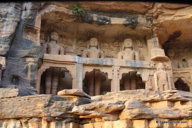 Jain Temple in Gwalior