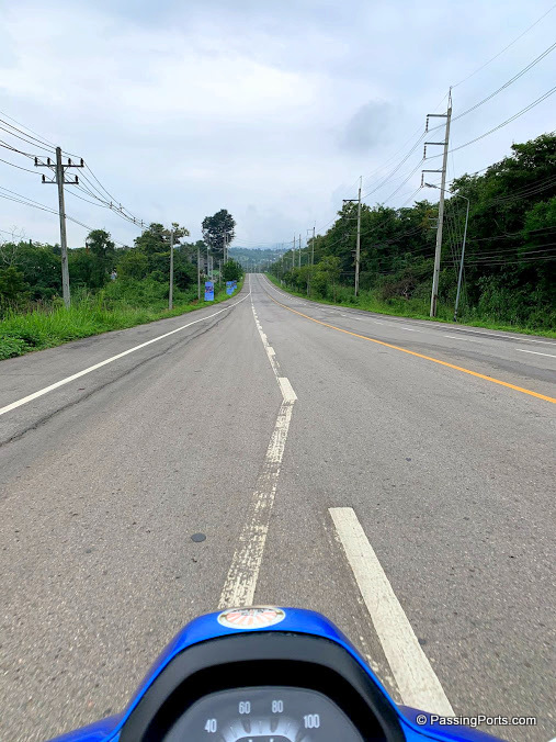 Pai Highway to Sai Ngam Hotspring