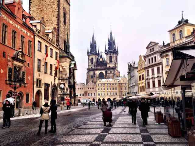 Prague First Timers Guide 14th Century Church Of Our Lady Before Tyn Things To Do