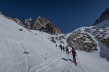 On quitte le Glacier d'Argentière
