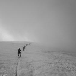 L'autoroute du brouillard...