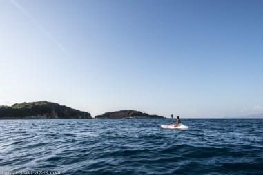Kayak dans les iles de Ksamil