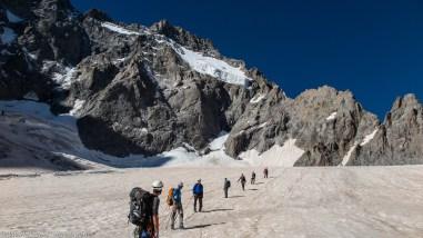 Sur le Glacier Noir, Ecrins