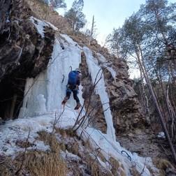 Cascade de la Schappe, Briançon