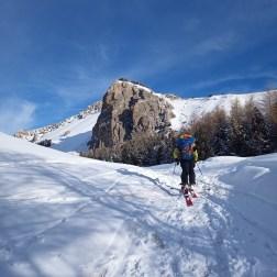 Approche Val d'Escreins