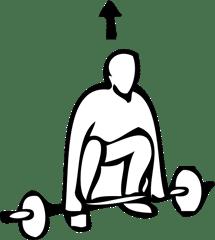 squat badminton