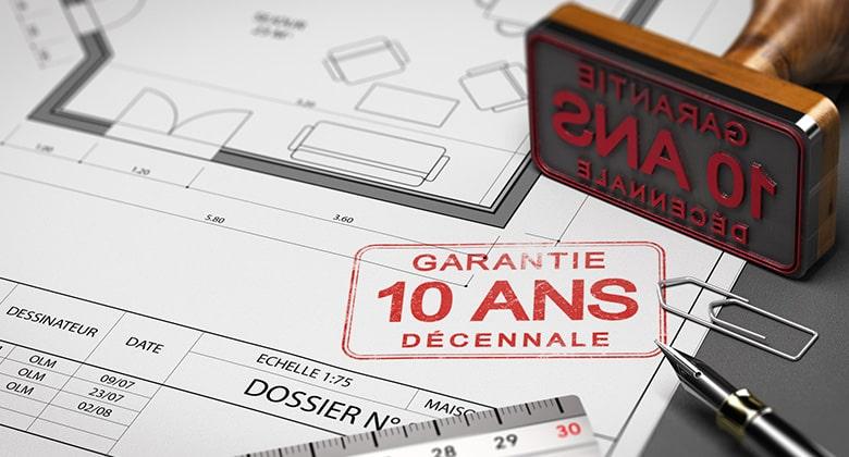 En quoi consiste la garantie décennale d'une assurance construction?