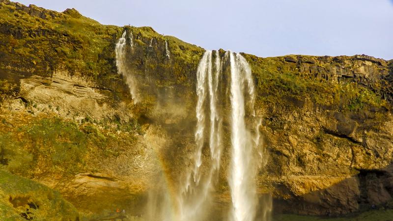 Circuit Islande dans le Sud, cascade de Seljalandsfoss