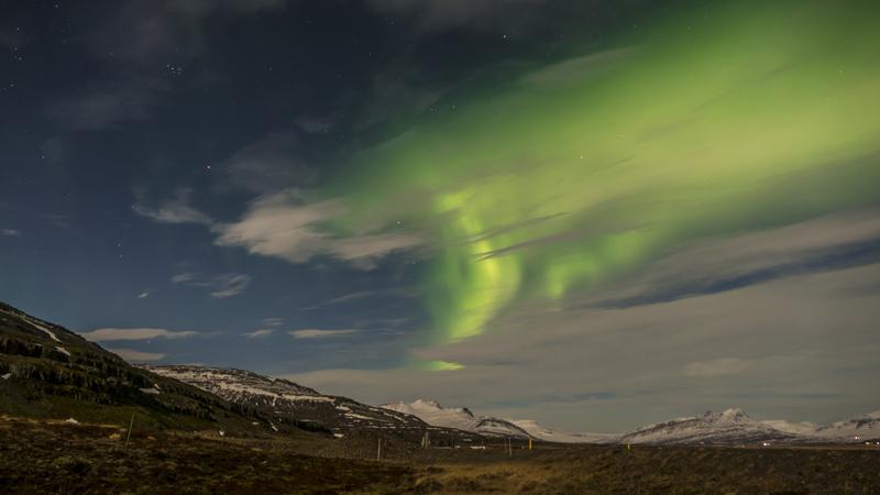 Climat et phénomènes naturels, le blog : Aurore boréale dans l'Est de l'Islande