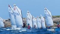 base nautique de l'île grande : optimist compétition