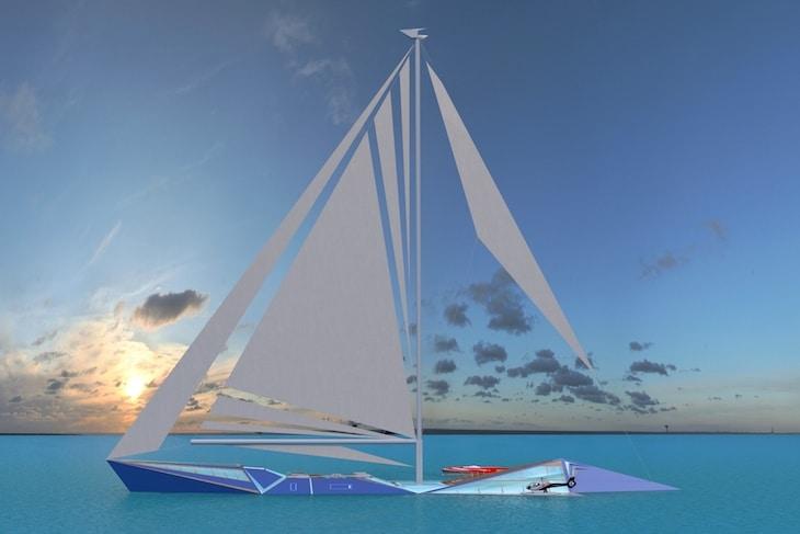 bateaux à voile Origami sailing yatch