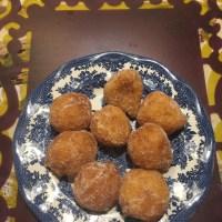 MadeinPistoia : Mardi Gras & frittelle di riso = fried rice donuts!!