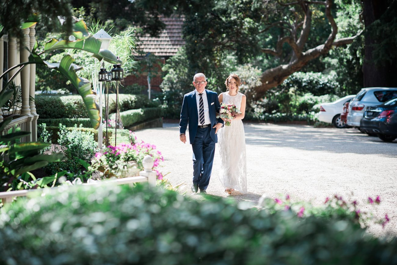 Wedding at The Gables and Rockpool dad