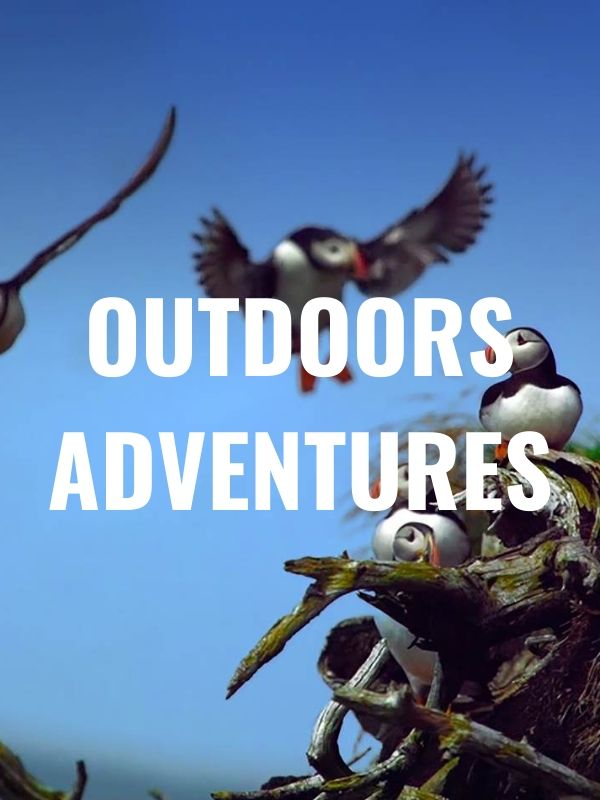 outdoors adventures graphic