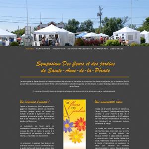 Symposium des fleurs et des jardins de Sainte-Anne-de-la-Pérade