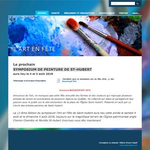 Symposium de peinture de St-Hubert