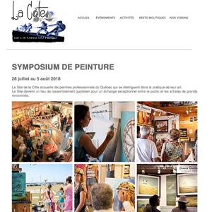 Symposium de peinture figurative de l'Étang-du-Nord