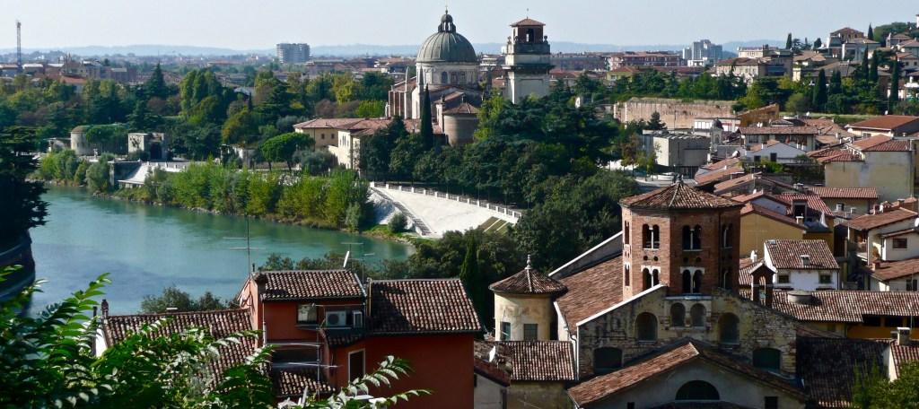 View across the Adige River, Verona