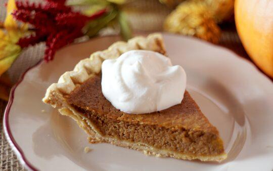Fresh Pumpkin Pie Recipe