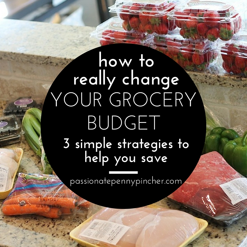 3 Strategies to help you save on your grocery budget