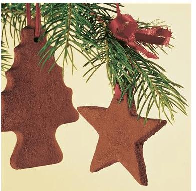 recipe for cinnamon ornaments