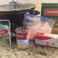 Italian Creamy Crockpot Chicken - Just 5 Ingredients!
