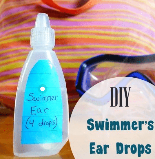 Homemade Swimmers Ear Drops
