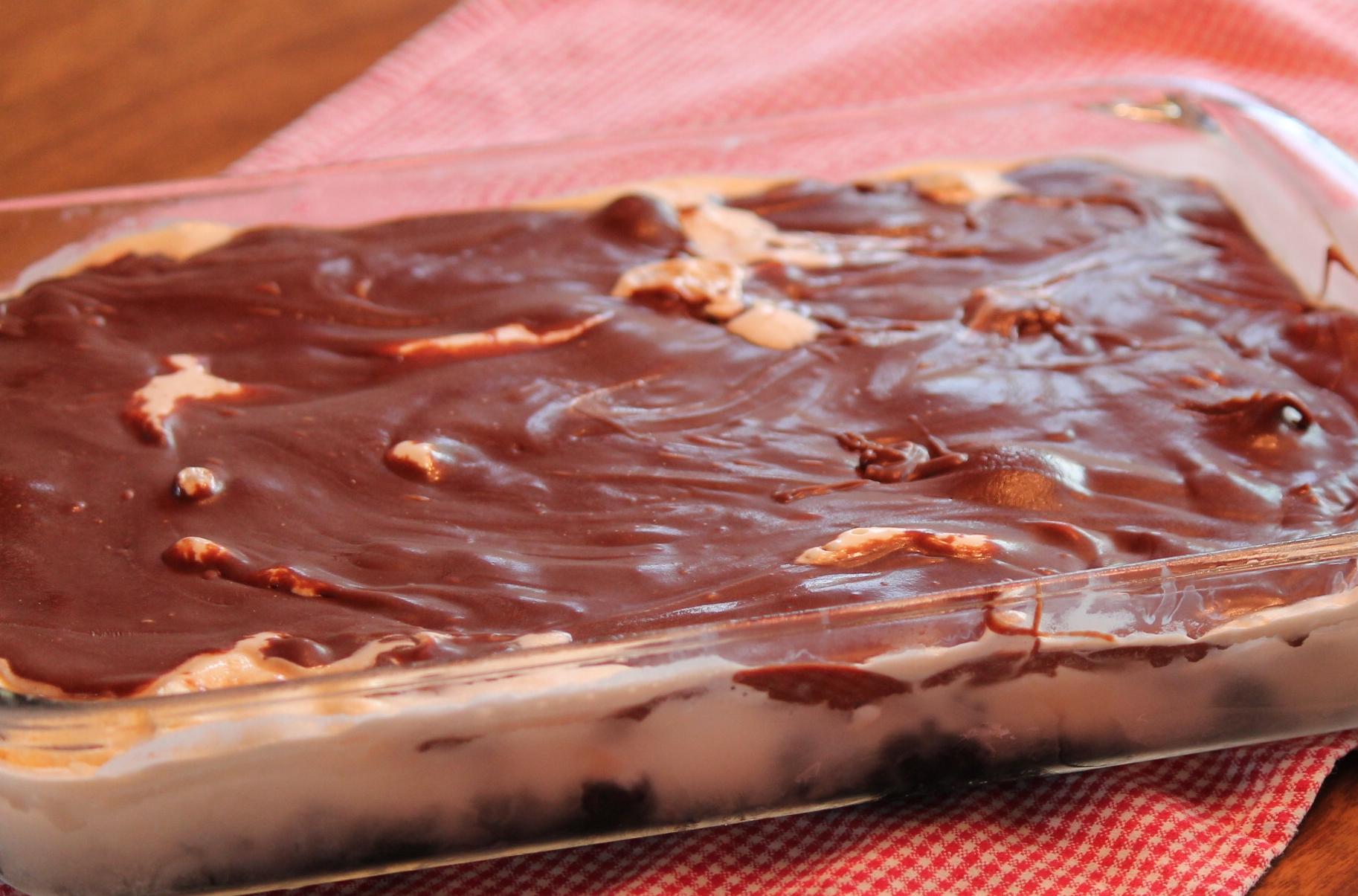 Mudslide Recipe for Dessert Finished
