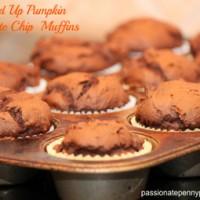 Lightened-Up-Pumpkin-Chocolate-Chip-Muffins