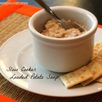 Slow Cooked Loaded Potato Soup