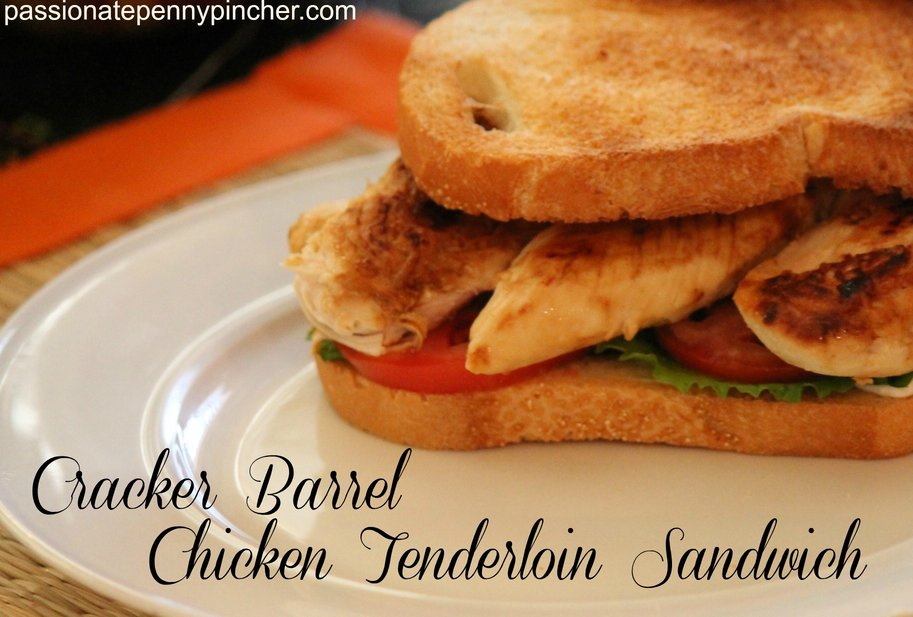 Cracker Barrel Chicken Sandwich