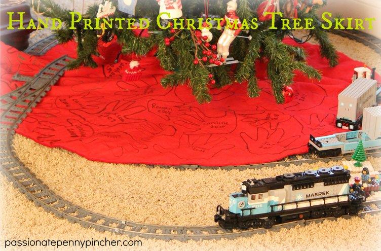 Christmas Tree with Handprints