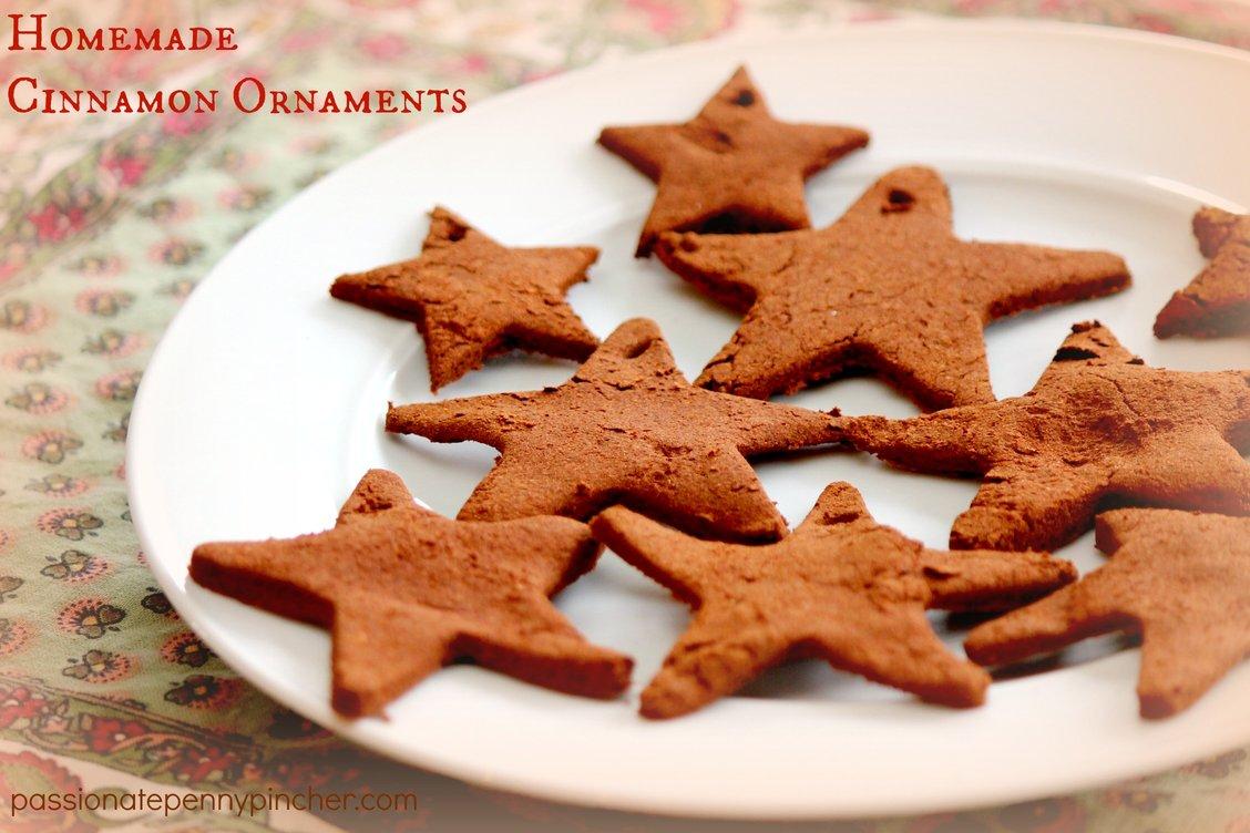 Cinnamon Ornaments on a Plate