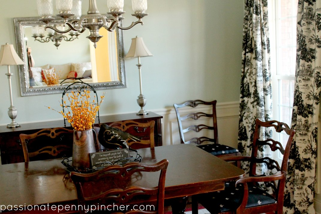 Benjamin Moore Paint Dining Room Makeover