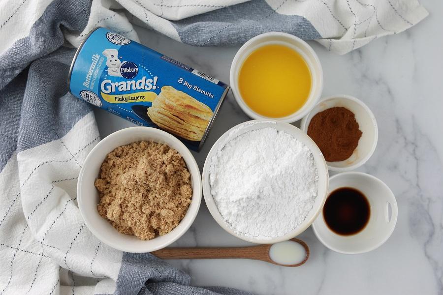 Slow Cooker Monkey Bread Ingredients