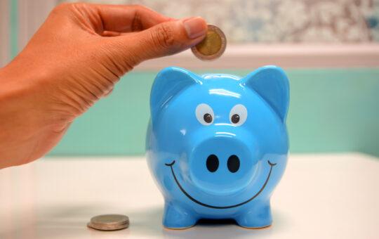 blue piggy bank - inbox dollars