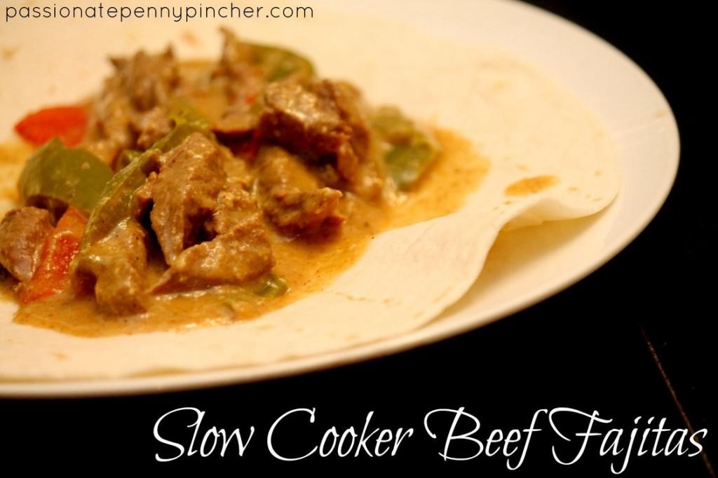 Slow Cooker Fajitas