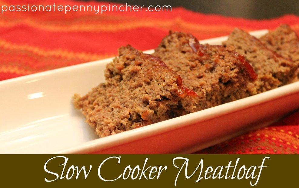 Crockpot Meatloaf