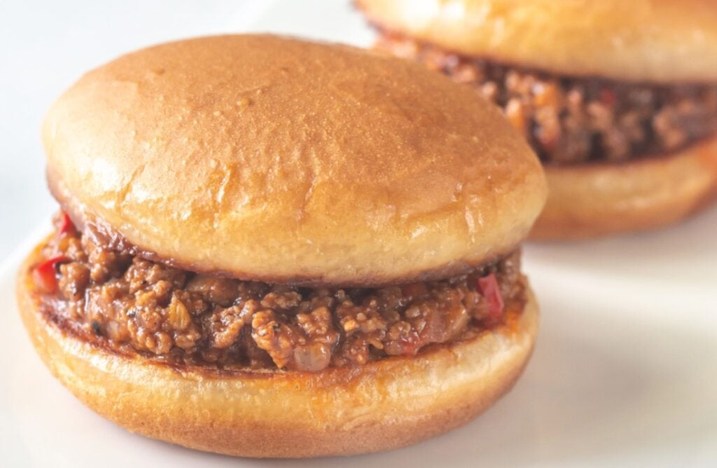 Sloppy Joe Recipe Slow Cooker on Buns