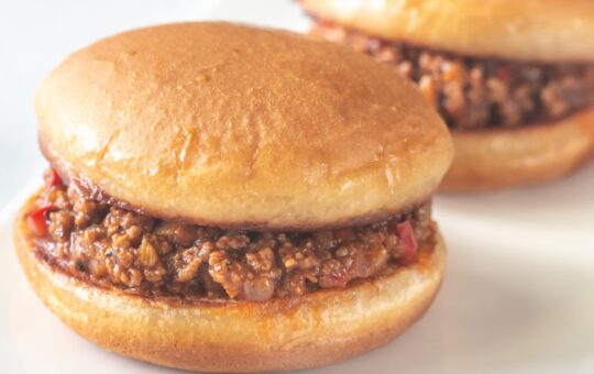 slow cooker sloppy joes on bun