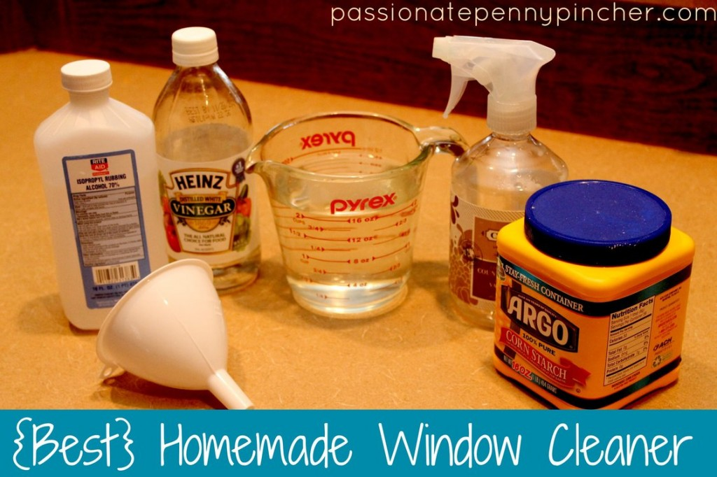 Best Homemade Window Cleaner