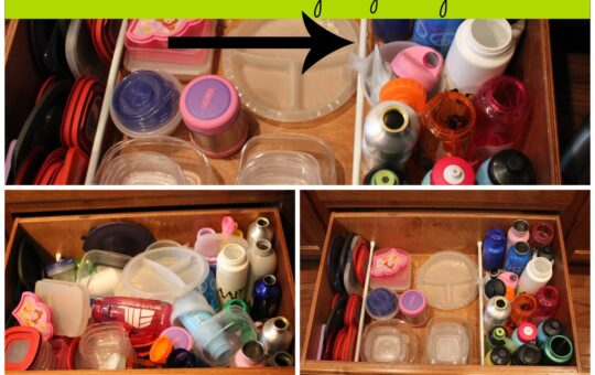 Organizing with tension rods