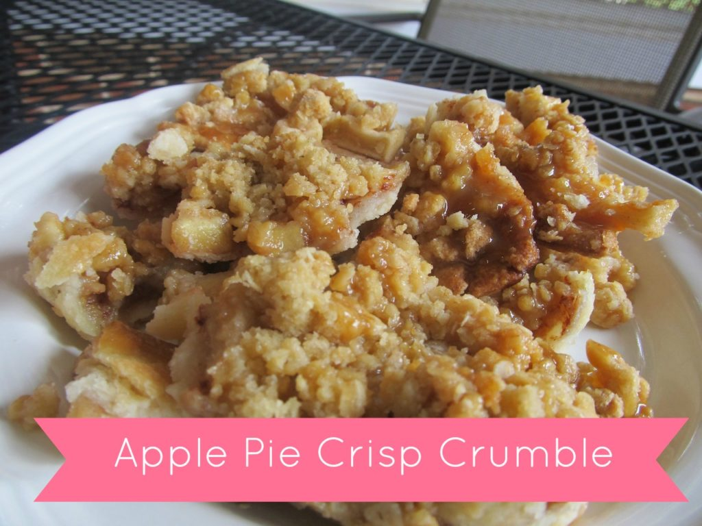Apple Pie Crisp Crumble