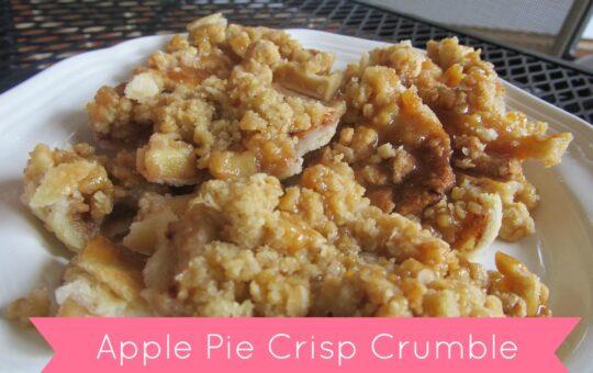 Apple Pie Crumble